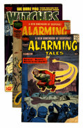Golden Age (1938-1955):Horror, Witches Tales Group (Harvey, 1952-58) Condition: Average GD....(Total: 18 Comic Books)