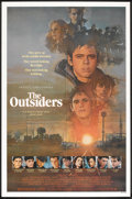 """Movie Posters:Crime, The Outsiders (Warner Brothers, 1982). One Sheet (27"""" X 41""""). Crime.. ..."""