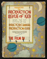 "Film Daily Year Book of Motion Pictures (Film Daily, 1931-32). Hardcover Director's Annual (9.5"" X 12""). Misce..."