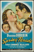 "Movie Posters:Musical, Spring Parade (Universal, 1940). One Sheet (27"" X 41""). Musical.. ..."