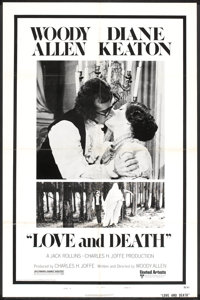 """Love and Death (United Artists, 1975). One Sheet (27"""" X 41"""") Style B and Lobby Cards (2) (11"""" X 14"""")..."""
