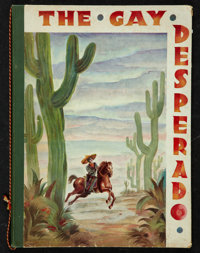 "The Gay Desperado (United Artists, 1936). Hardcover Program (9"" X 12""). Comedy"