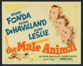 """Movie Posters:Comedy, The Male Animal (Warner Brothers, 1942). Lobby Card Set of 8 (11"""" X 14""""). Comedy.. ... (Total: 8 Items)"""