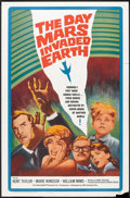 """Movie Posters:Science Fiction, The Day Mars Invaded Earth (20th Century Fox, 1963). One Sheet (27"""" X 41""""). Science Fiction.. ..."""