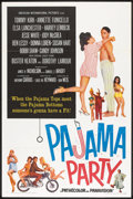 "Movie Posters:Comedy, Pajama Party (American International, 1964). One Sheet (27"" X 41""). Comedy.. ..."