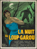 "Movie Posters:Horror, Curse of the Werewolf (Universal International, 1961). French Grande (47"" X 63""). Horror.. ..."
