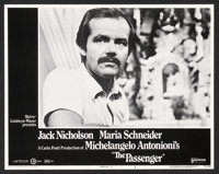 "The Passenger (United Artists, 1975). Lobby Card Set of 8 (11"" X 14""). Drama. ... (Total: 8 Items)"