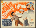"""Movie Posters:Western, Dynamite Canyon (Monogram, 1941). Lobby Card Set of 8 (11"""" X 14""""). Western.. ... (Total: 8 Items)"""