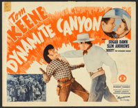 """Dynamite Canyon (Monogram, 1941). Lobby Card Set of 8 (11"""" X 14""""). Western. ... (Total: 8 Items)"""