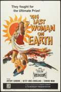 """Movie Posters:Science Fiction, The Last Woman on Earth (Film Group, 1960). One Sheet (27"""" X 41""""). Science Fiction.. ..."""