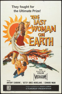 "The Last Woman on Earth (Film Group, 1960). One Sheet (27"" X 41""). Science Fiction"