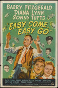 """Movie Posters:Drama, Easy Come, Easy Go (Paramount, 1947). One Sheet (27"""" X 41""""). Drama.. ..."""