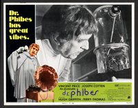"""The Abominable Dr. Phibes (American International, 1971). Lobby Card Set of 8 (11"""" X 14""""). Horror. ... (Total:..."""