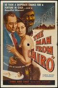 """Movie Posters:Crime, The Man from Cairo (Lippert, 1953). One Sheet (27"""" X 41""""). Crime.. ..."""