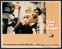 "Enter the Dragon (Warner Brothers, 1973). Lobby Card Set of 8 (11"" X 14""). Action. ... (Total: 8 Items)"