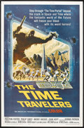 """Movie Posters:Science Fiction, The Time Travelers (American International, 1964). One Sheet (27"""" X 41""""). Science Fiction.. ..."""