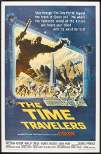 """The Time Travelers (American International, 1964). One Sheet (27"""" X 41""""). Science Fiction"""