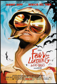 "Fear and Loathing in Las Vegas (Universal, 1998). One Sheet (27"" X 40"") DS Advance. Adventure"
