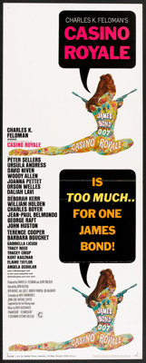 "Casino Royale (Columbia, 1967). Insert (14"" X 36""). James Bond"