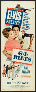 "Movie Posters:Elvis Presley, G.I. Blues (Paramount, 1960). Insert (14"" X 36""). Elvis Presley.. ..."