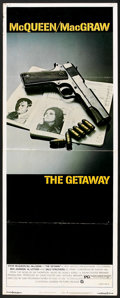 "Movie Posters:Action, The Getaway (National General, 1972). Insert (14"" X 36""). Action.. ..."