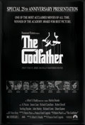 """Movie Posters:Crime, The Godfather (Paramount, R-1997). 25th Anniversary One Sheet (27"""" X 40"""") SS. Crime.. ..."""