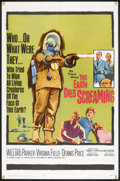 "Movie Posters:Horror, The Earth Dies Screaming (20th Century Fox, 1965). One Sheet (27"" X 41""). Horror.. ..."