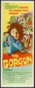 "Movie Posters:Horror, The Gorgon (Columbia, 1964). Insert (14"" X 36""). Horror.. ..."