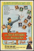 "Movie Posters:Comedy, The Outlaws is Coming (Columbia, 1965). Argentinean Poster (29"" X 43""). Comedy.. ..."