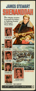 "Movie Posters:Western, Shenandoah (Universal, 1965). Insert (14"" X 36""). Western.. ..."