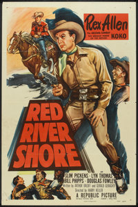 "Red River Shore (Republic, 1953). One Sheet (27"" X 41""). Western"