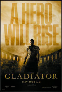 "Gladiator (Universal, 2000). One Sheet (27"" X 40"") DS Advance. Action"