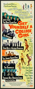 "Movie Posters:Comedy, Get Yourself a College Girl (MGM, 1964). Insert (14"" X 36""). Comedy.. ..."