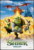 "Movie Posters:Animated, Shrek (DreamWorks, 2001). One Sheet (27"" X 40"") DS Advance.Animated.. ..."