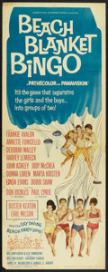 "Movie Posters:Comedy, Beach Blanket Bingo (American International, 1965). Insert (14"" X 36""). Comedy.. ..."