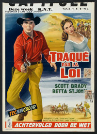 """The Law Vs. Billy the Kid (Columbia, 1954). Belgian (13.5"""" X 19.25""""). Western"""