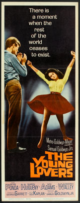 """The Young Lovers (MGM, 1964). Insert (14"""" X 36""""). Drama"""