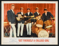 """Get Yourself a College Girl (MGM, 1964). Lobby Card Set of 8 (11"""" X 14""""). Comedy. ... (Total: 8 Items)"""