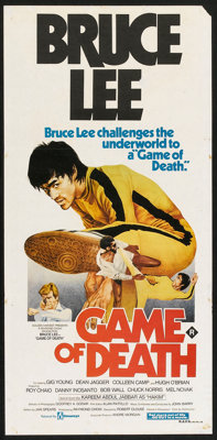 "Game of Death (Filmways, 1978). Australian Daybill (13"" X 30""). Action"