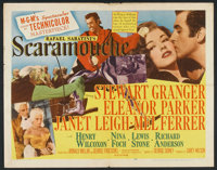 "Scaramouche (MGM, 1952). Half Sheet (22"" X 28"") Style B. Swashbuckler"