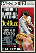 "Movie Posters:Drama, Toys in the Attic (United Artists, 1963). Belgian (14"" X 20.5""). Drama.. ..."