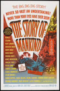 "The Story of Mankind (Warner Brothers, 1957). One Sheet (27"" X 41""). Fantasy"
