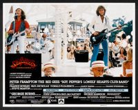 "Sgt. Pepper's Lonely Hearts Club Band (Paramount, 1978). Lobby Card Set of 4 (11"" X 14""). Rock and Roll. ... (..."