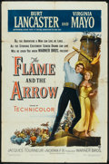 "The Flame and the Arrow (Warner Brothers, 1950). One Sheet (27"" X 41""). Adventure"