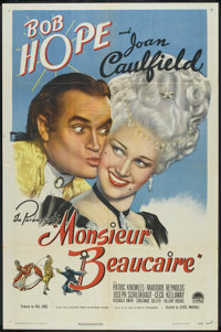 """Monsieur Beaucaire (Paramount, 1946). One Sheet (27"""" X 41""""). Comedy"""