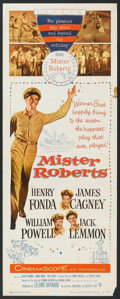 "Movie Posters:Comedy, Mister Roberts (Warner Brothers, 1955). Insert (14"" X 36""). Comedy.. ..."