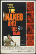 """The Naked and The Dead (RKO, 1958). One Sheet (27"""" X 41""""). War"""