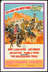 """The Hallelujah Trail (United Artists, 1965). One Sheet (27"""" X 41""""). Western"""