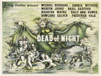 "Dead of Night (Eagle-Lion, 1945). British Quad (30"" X 40"")"
