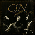 Music Memorabilia:Posters, CSN Box Set Promo Poster, Signed by Crosby, Stills, and Nash(Atlantic Records, 1991)....